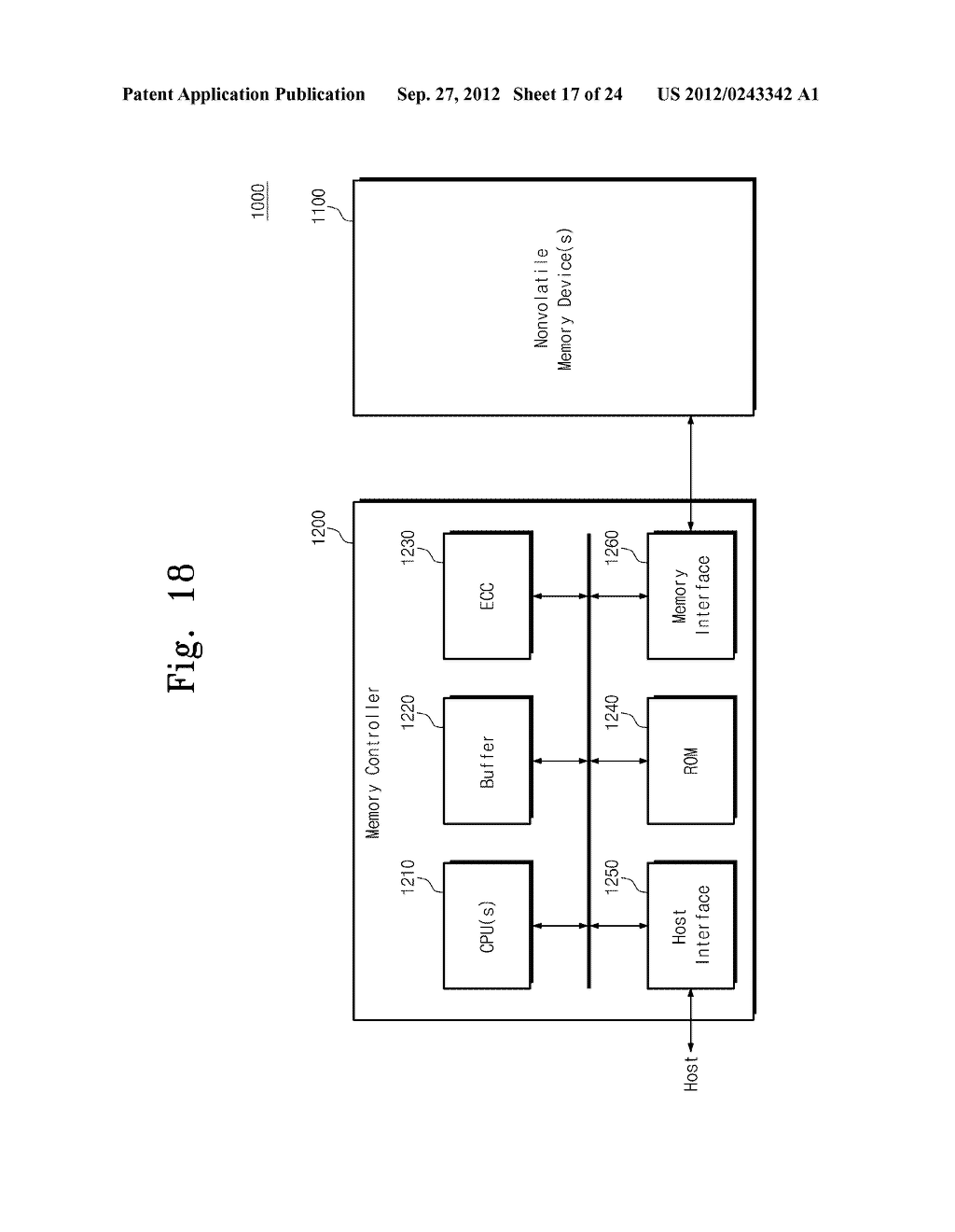 SENSE AMPLIFICATION CIRCUITS, OUTPUT CIRCUITS, NONVOLATILE MEMORY DEVICES,     MEMORY SYSTEMS, MEMORY CARDS HAVING THE SAME, AND DATA OUTPUTTING METHODS     THEREOF - diagram, schematic, and image 18