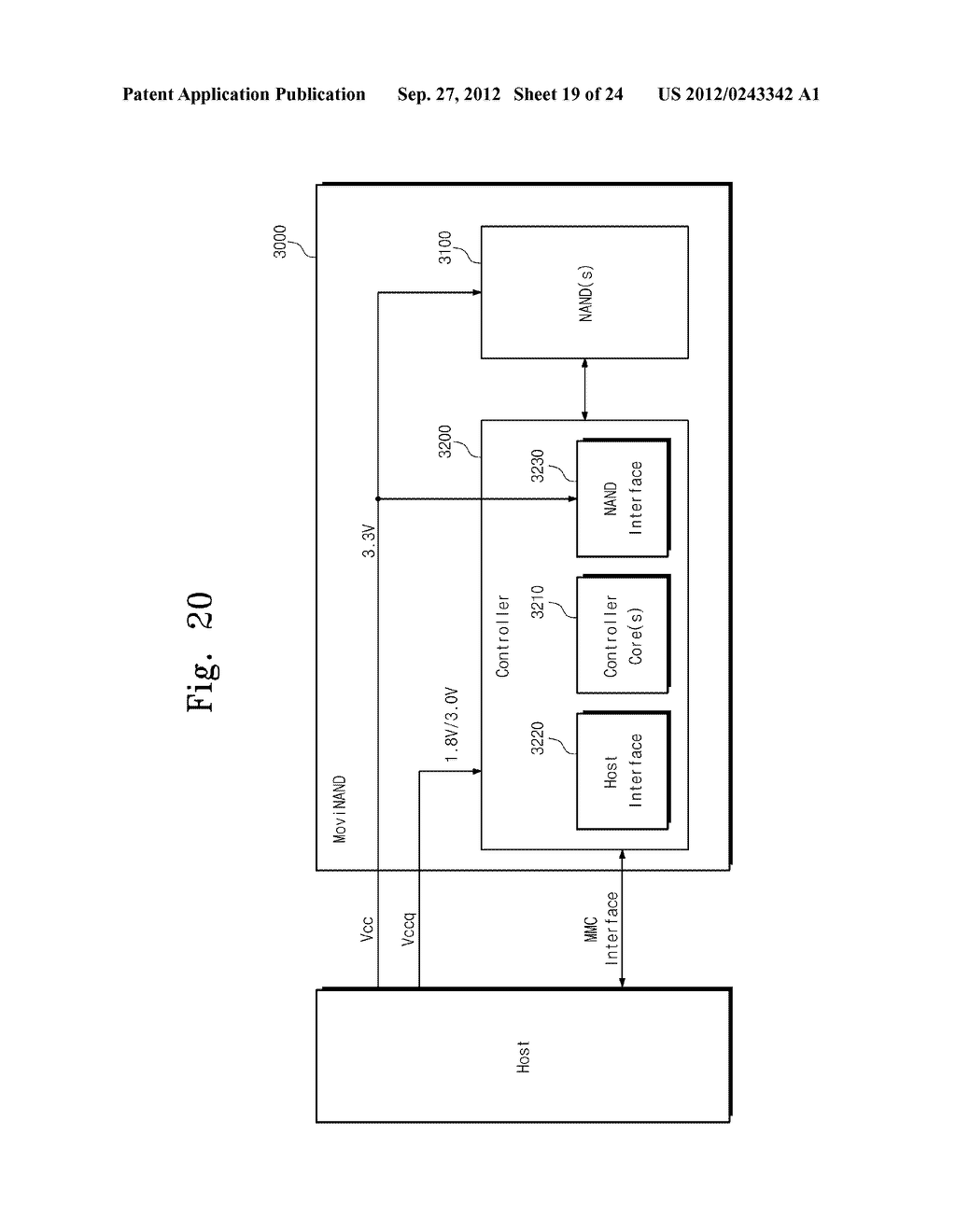SENSE AMPLIFICATION CIRCUITS, OUTPUT CIRCUITS, NONVOLATILE MEMORY DEVICES,     MEMORY SYSTEMS, MEMORY CARDS HAVING THE SAME, AND DATA OUTPUTTING METHODS     THEREOF - diagram, schematic, and image 20