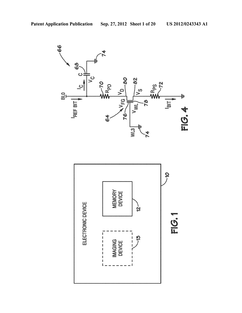 METHODS FOR SENSING MEMORY ELEMENTS IN SEMICONDUCTOR DEVICES - diagram, schematic, and image 02