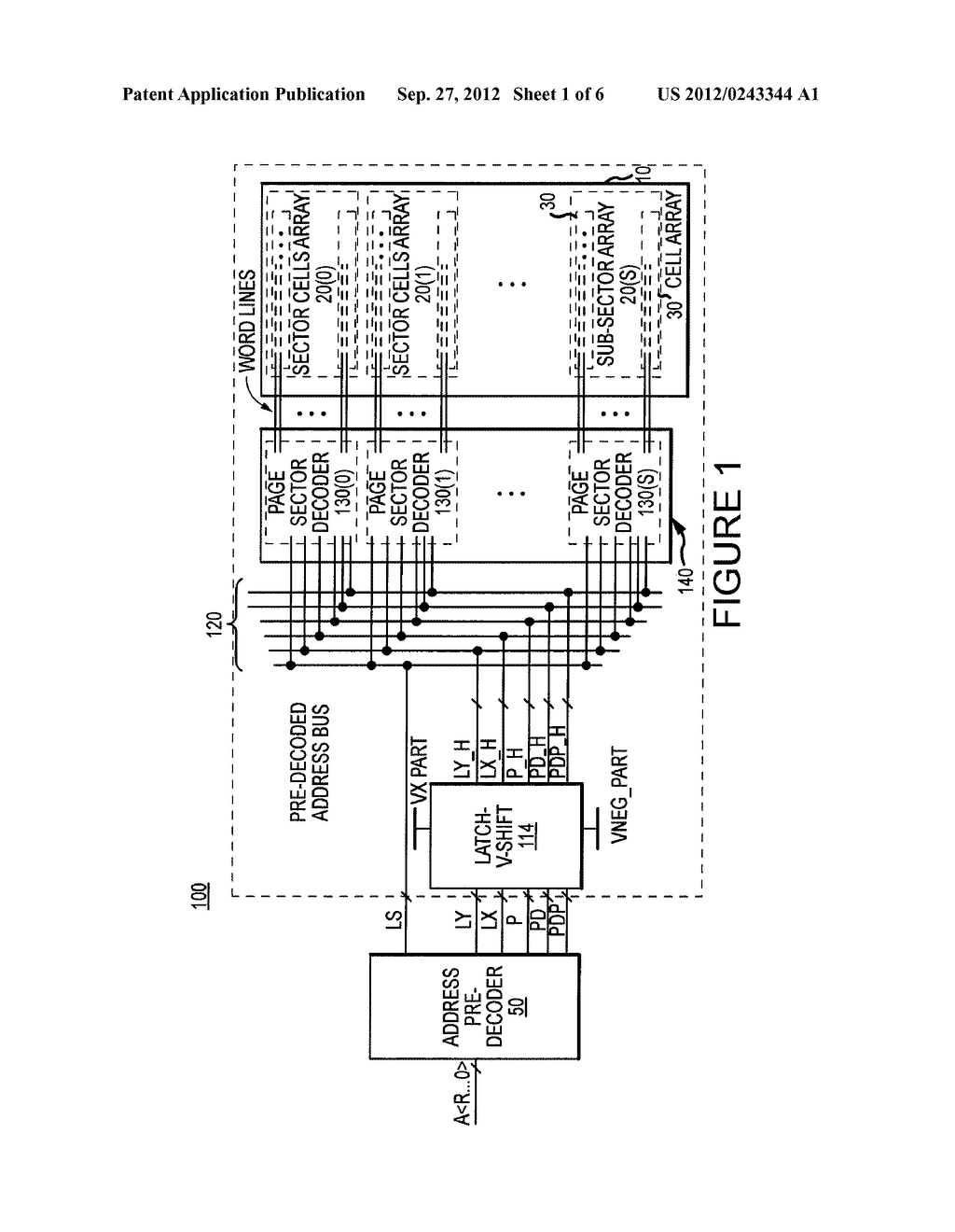 ROW ADDRESS DECODING BLOCK FOR NON-VOLATILE MEMORIES AND METHODS FOR     DECODING PRE-DECODED ADDRESS INFORMATION - diagram, schematic, and image 02