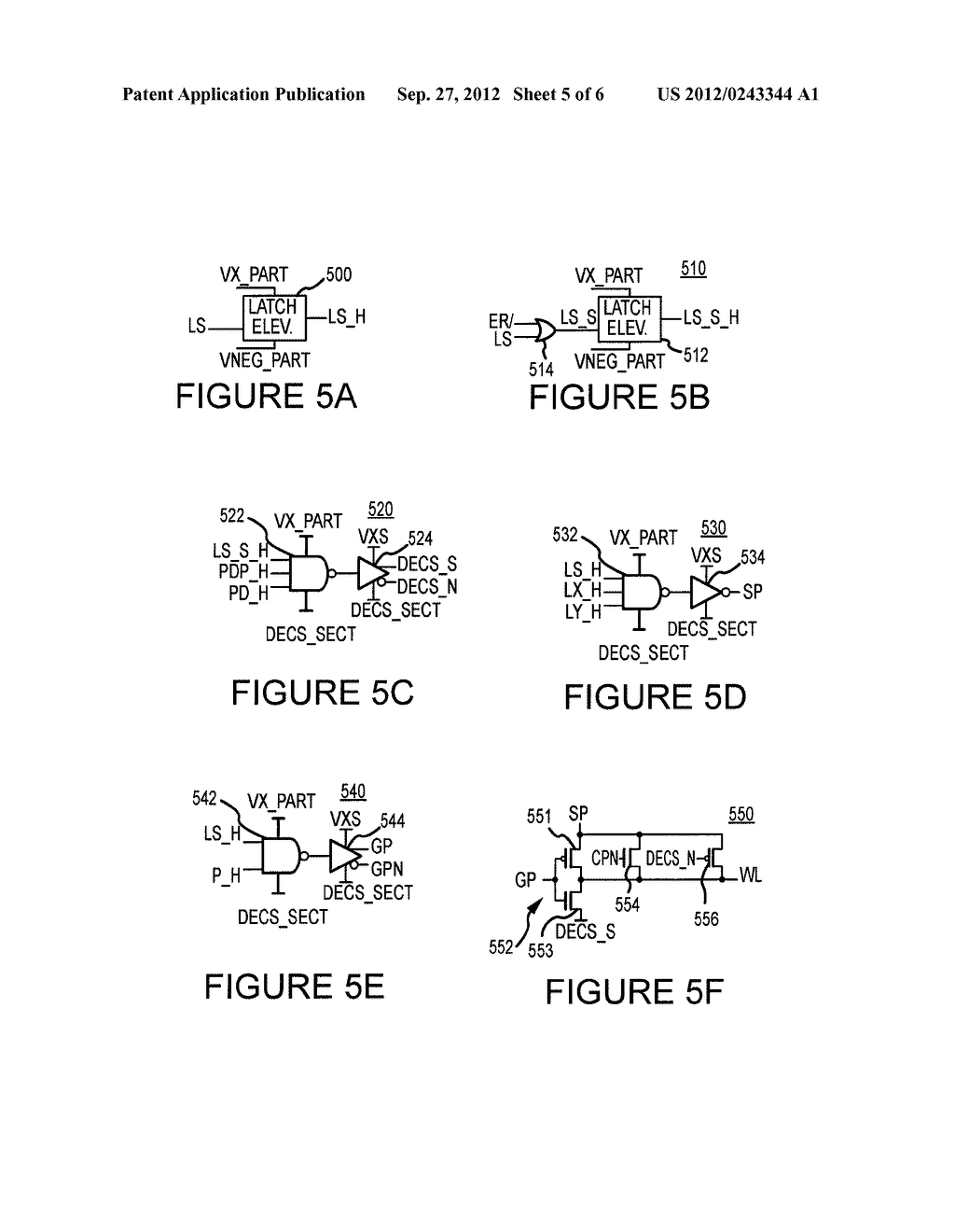 ROW ADDRESS DECODING BLOCK FOR NON-VOLATILE MEMORIES AND METHODS FOR     DECODING PRE-DECODED ADDRESS INFORMATION - diagram, schematic, and image 06
