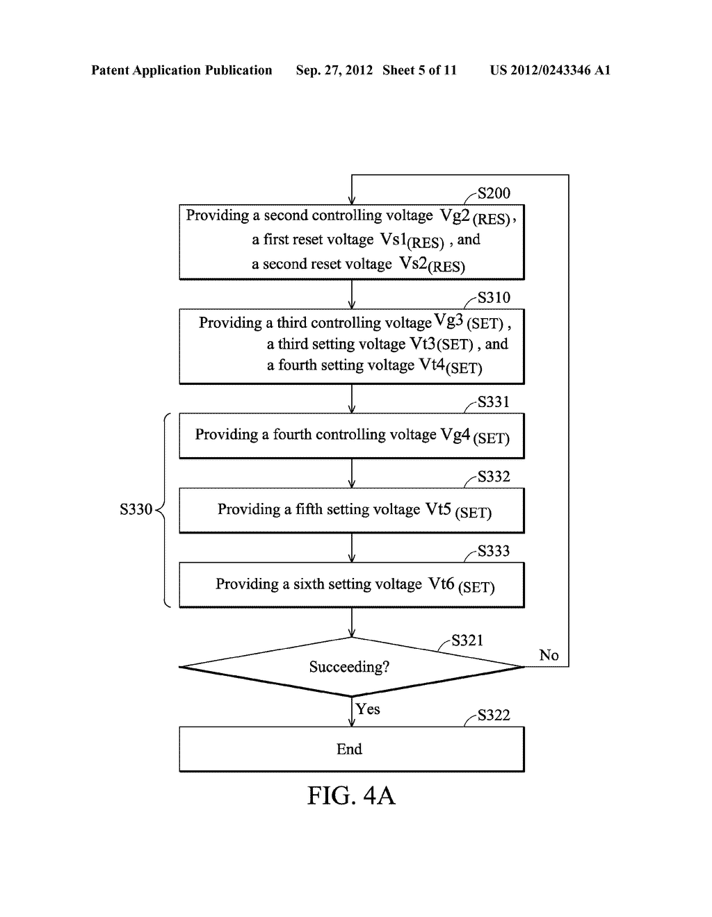 Control Method for Memory Cell - diagram, schematic, and image 06