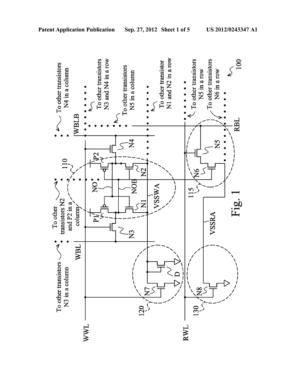 MEMORY CELLS HAVING A ROW-BASED READ AND/OR WRITE SUPPORT CIRCUITRY - diagram, schematic, and image 02