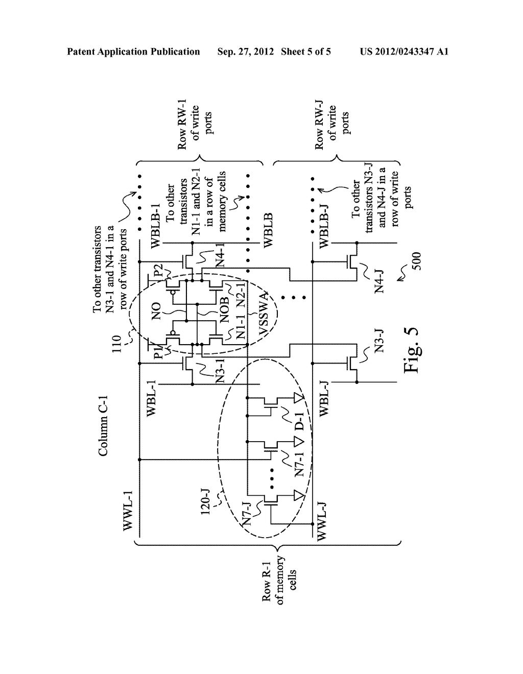 MEMORY CELLS HAVING A ROW-BASED READ AND/OR WRITE SUPPORT CIRCUITRY - diagram, schematic, and image 06