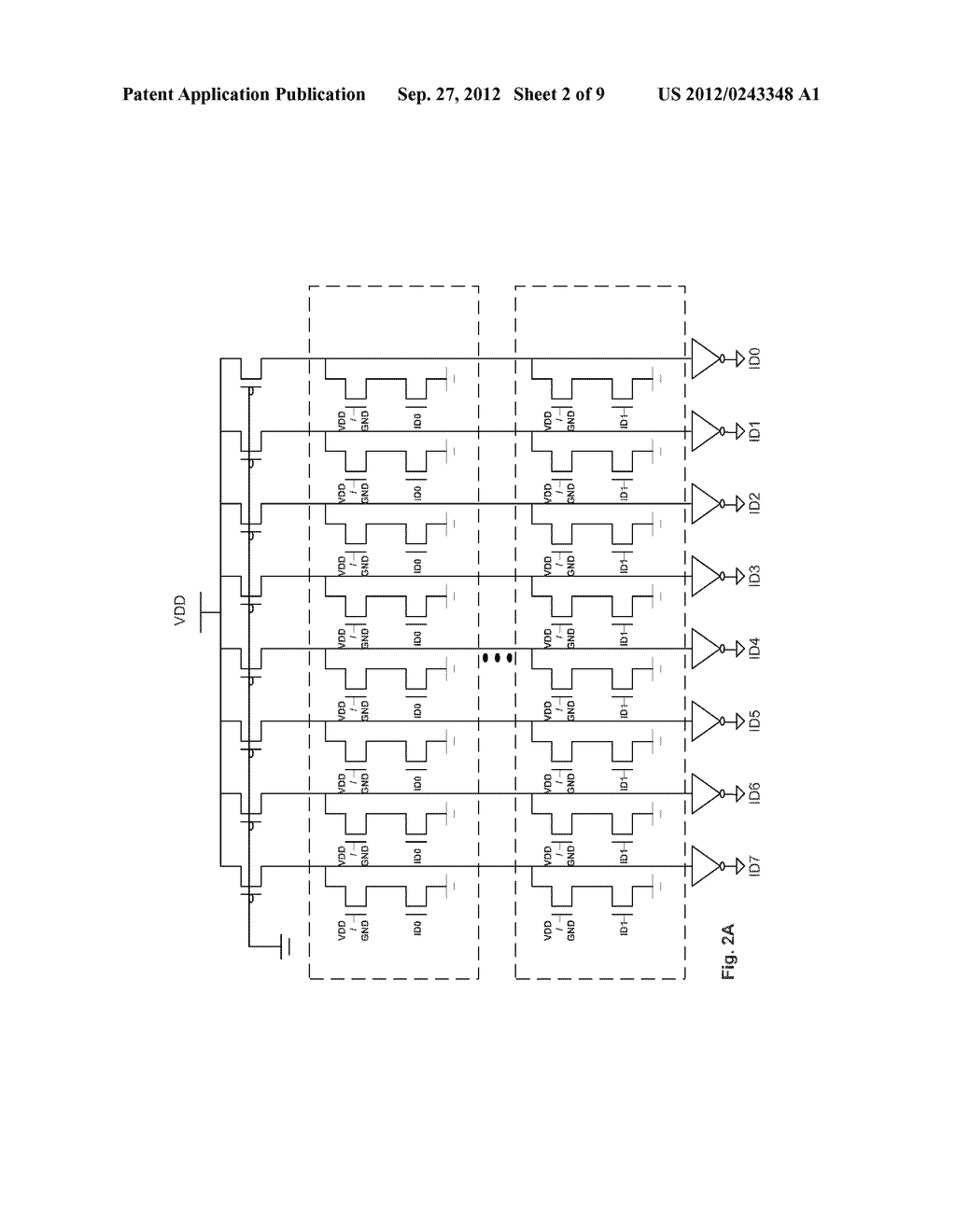 Method and Apparatus of Changing Device Identification Codes of a Memory     Integrated Circuit Device - diagram, schematic, and image 03