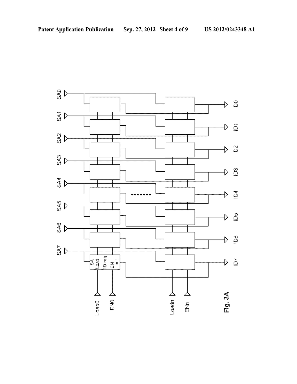 Method and Apparatus of Changing Device Identification Codes of a Memory     Integrated Circuit Device - diagram, schematic, and image 05
