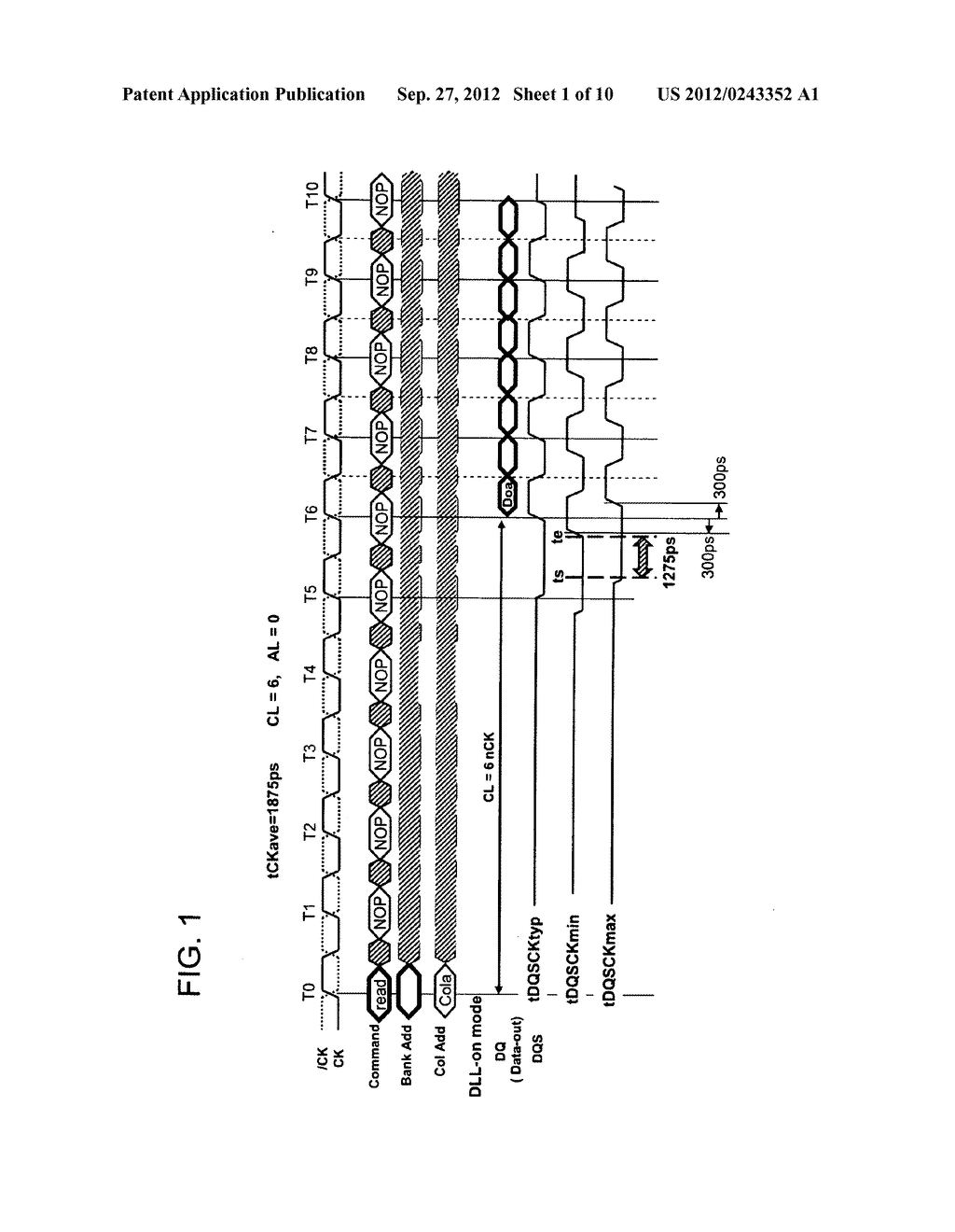 SEMICONDUCTOR MEMORY DEVICE, METHOD OF CONTROLLING READ PREAMBLE SIGNAL     THEREOF, AND DATA TRANSMISSION SYSTEM - diagram, schematic, and image 02