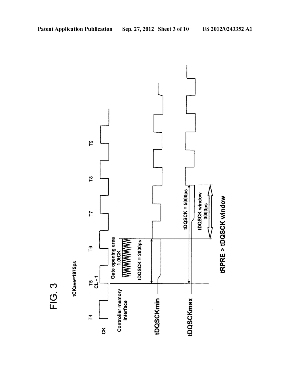 SEMICONDUCTOR MEMORY DEVICE, METHOD OF CONTROLLING READ PREAMBLE SIGNAL     THEREOF, AND DATA TRANSMISSION SYSTEM - diagram, schematic, and image 04
