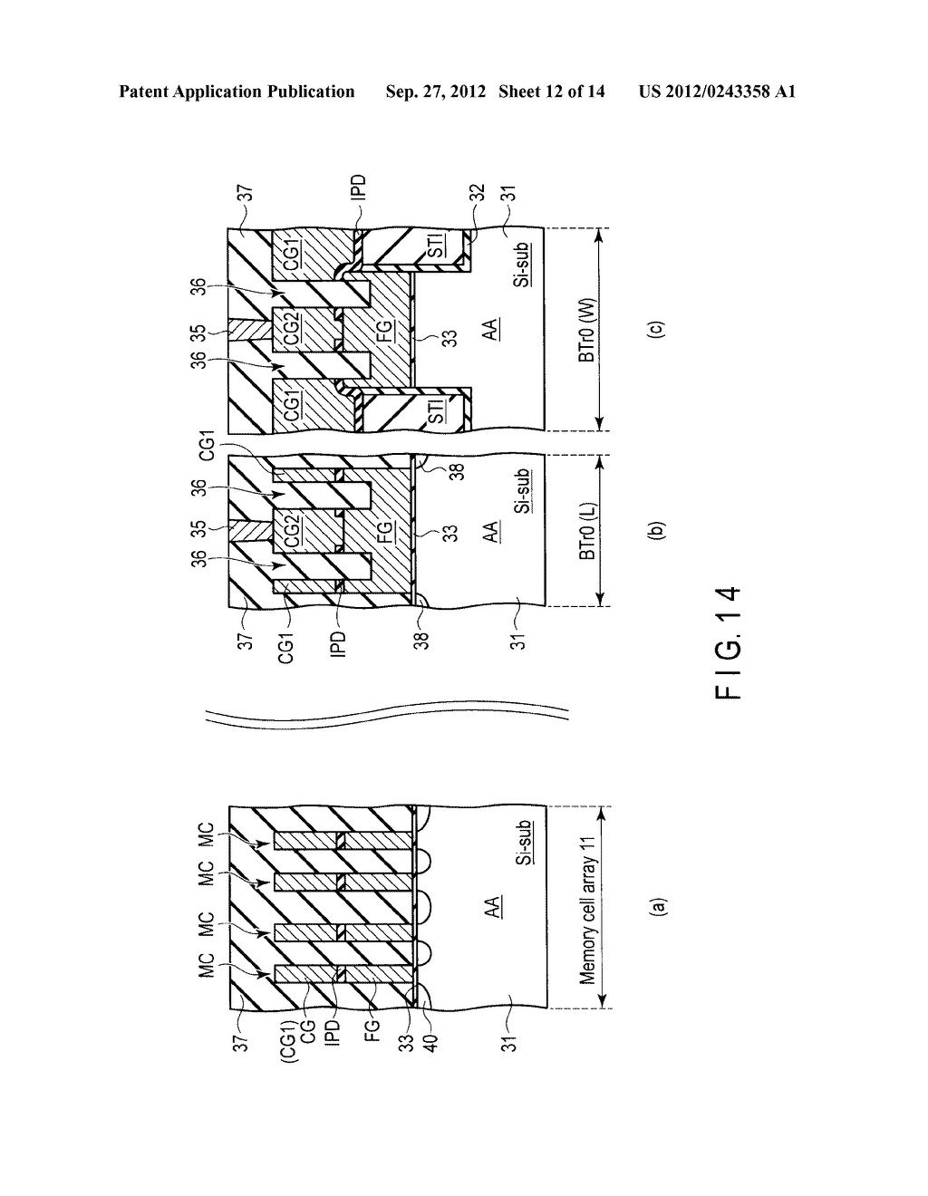 SEMICONDUCTOR DEVICE AND METHOD OF MANUFACTURING THE SAME - diagram, schematic, and image 13