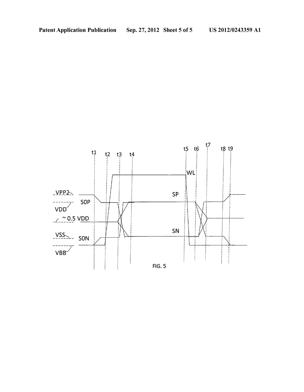 SENSE AMPLIFIER - diagram, schematic, and image 06