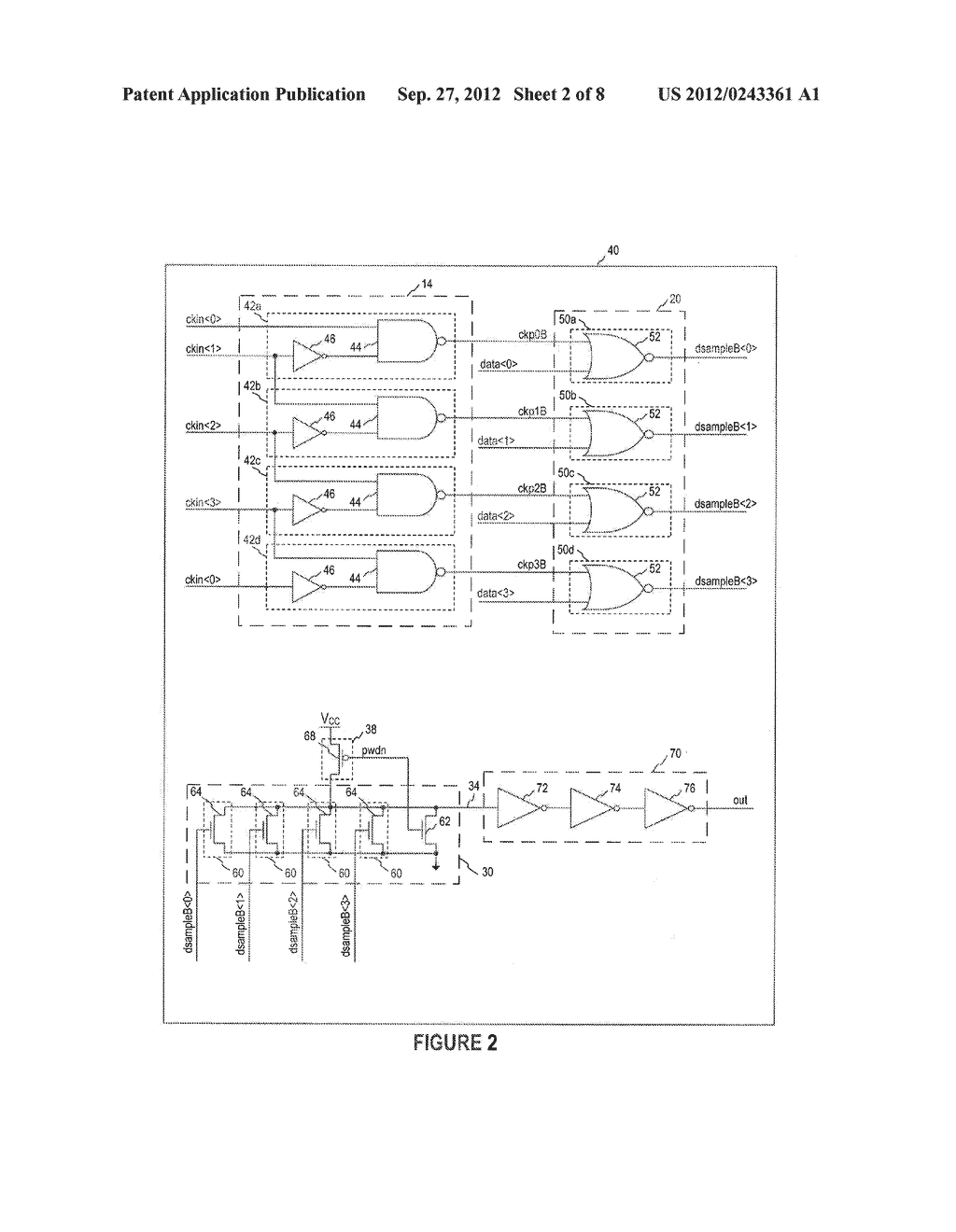 DATA SERIALIZERS, OUTPUT BUFFERS, MEMORY DEVICES AND METHODS OF     SERIALIZING - diagram, schematic, and image 03