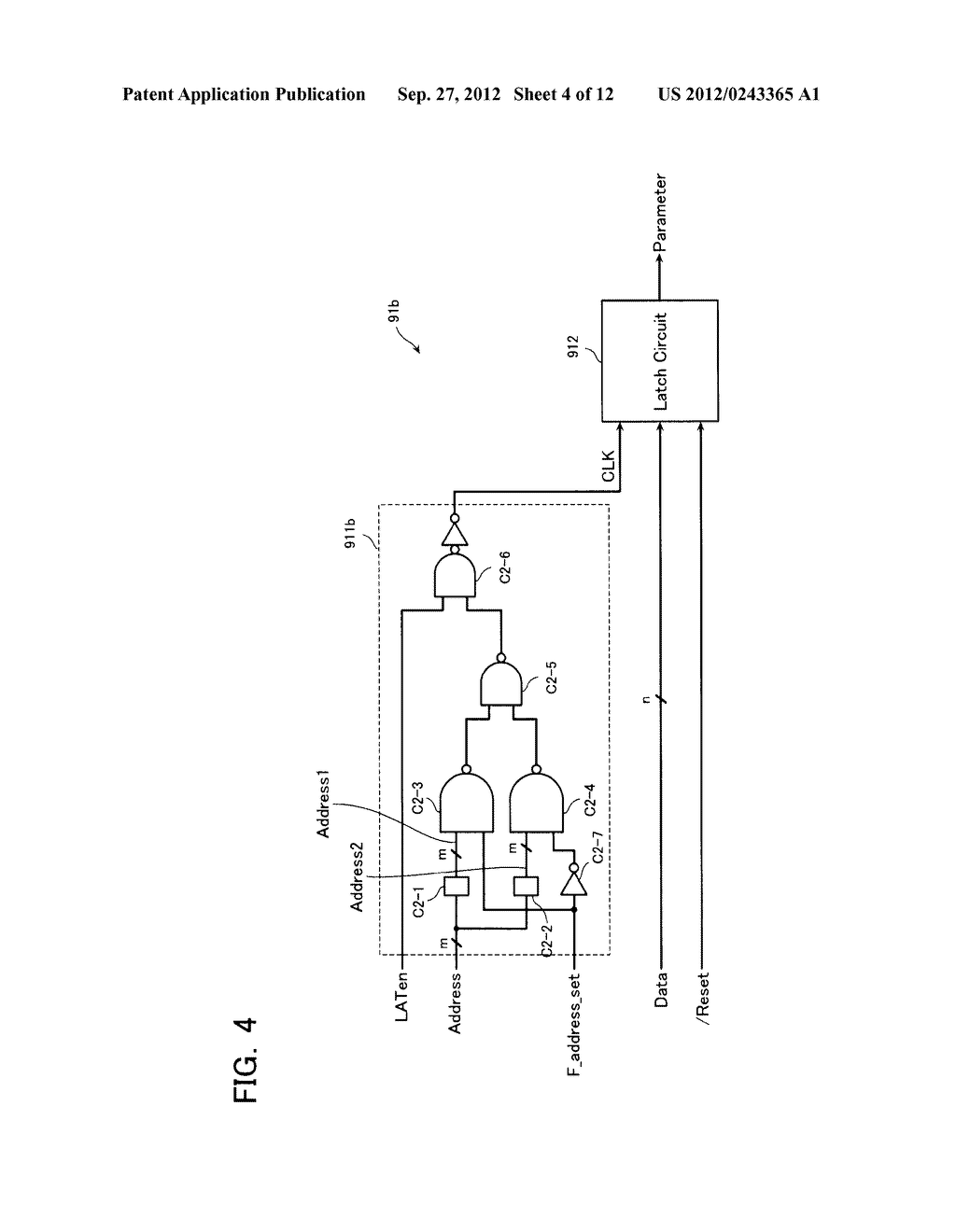 SEMICONDUCTOR MEMORY DEVICE AND METHOD OF SETTING OPERATION ENVIRONMENT     THEREIN - diagram, schematic, and image 05