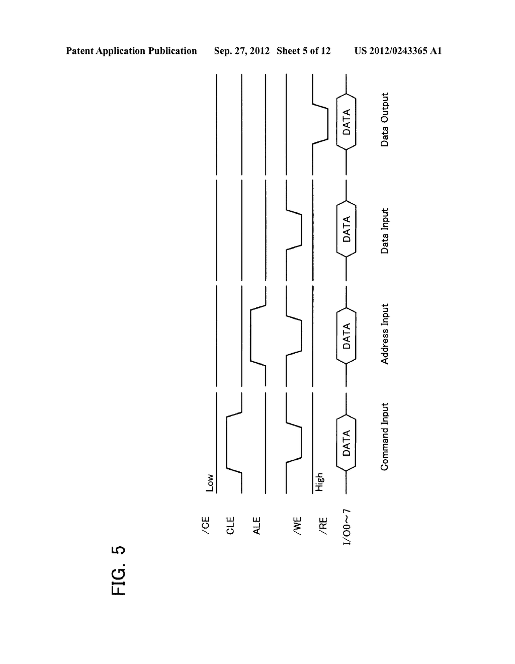 SEMICONDUCTOR MEMORY DEVICE AND METHOD OF SETTING OPERATION ENVIRONMENT     THEREIN - diagram, schematic, and image 06