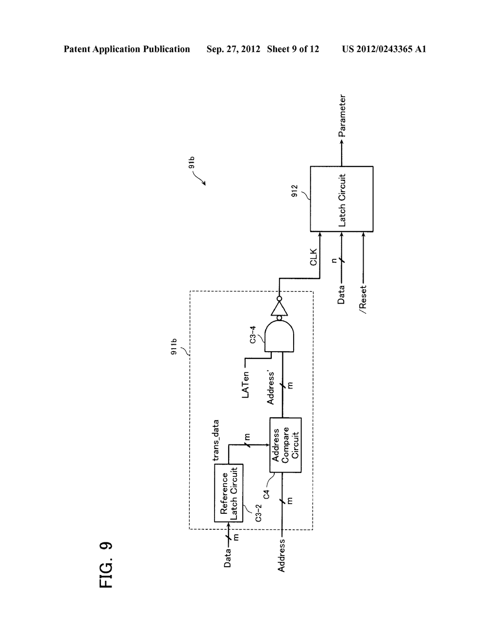 SEMICONDUCTOR MEMORY DEVICE AND METHOD OF SETTING OPERATION ENVIRONMENT     THEREIN - diagram, schematic, and image 10
