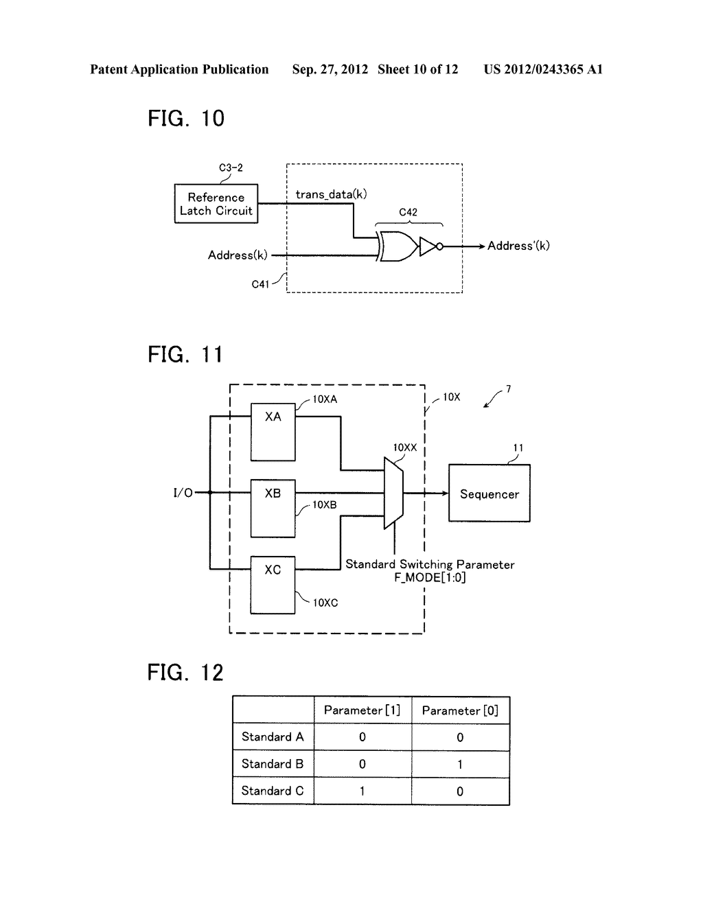 SEMICONDUCTOR MEMORY DEVICE AND METHOD OF SETTING OPERATION ENVIRONMENT     THEREIN - diagram, schematic, and image 11