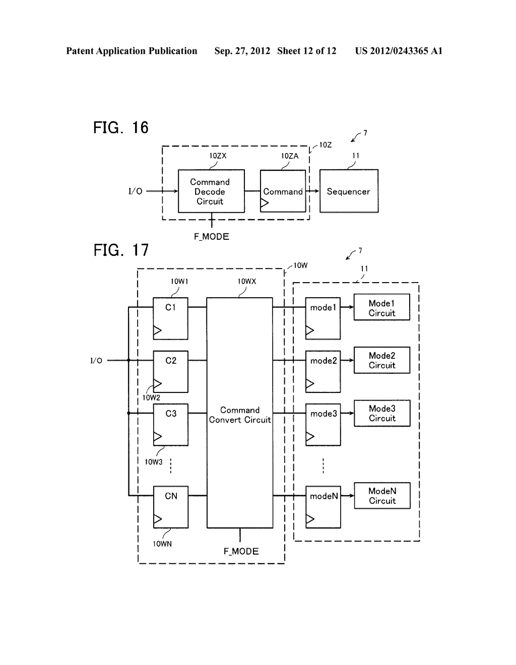 SEMICONDUCTOR MEMORY DEVICE AND METHOD OF SETTING OPERATION ENVIRONMENT     THEREIN - diagram, schematic, and image 13