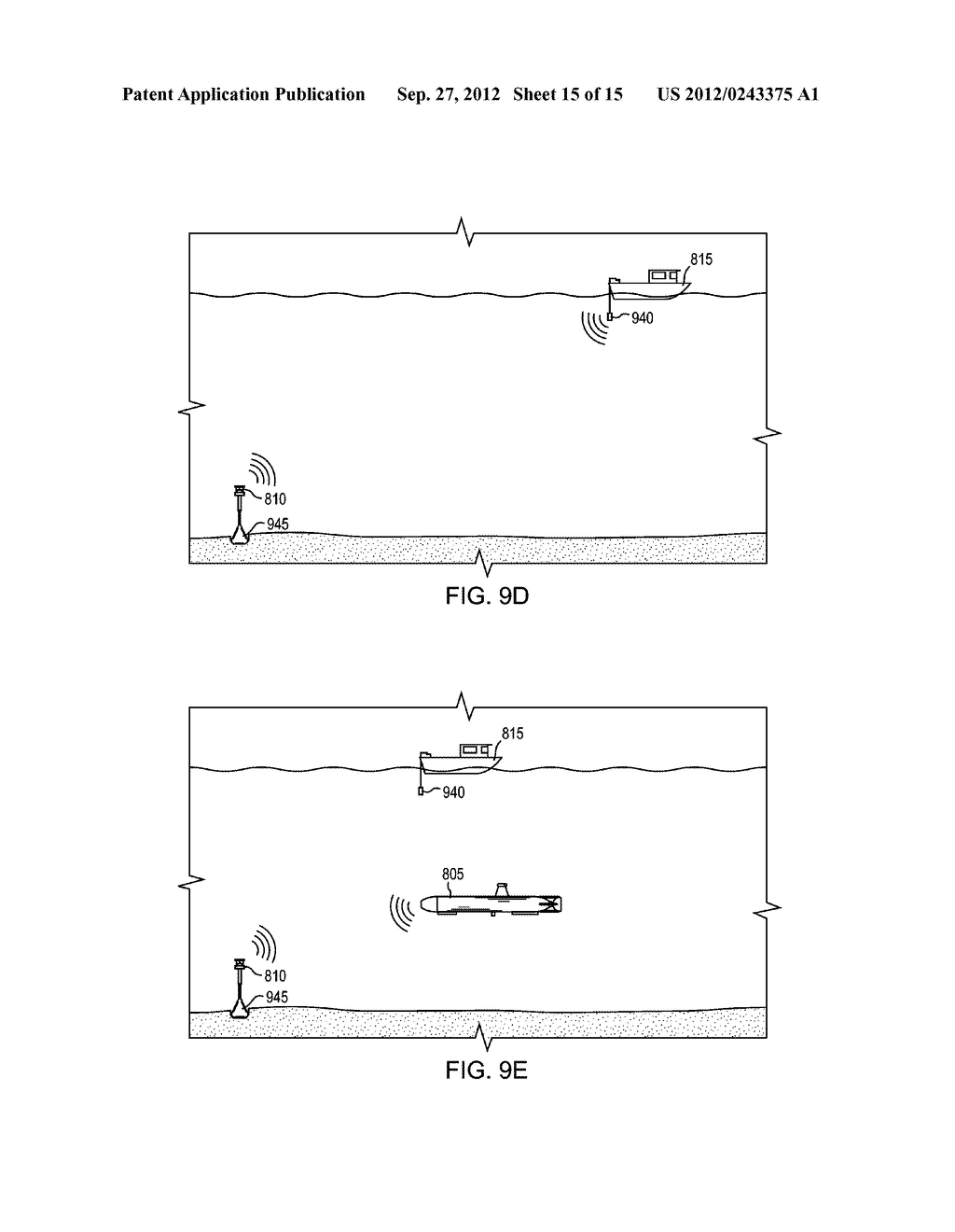 DETERMINING A POSITION OF A SUBMERSIBLE VEHICLE WITHIN A BODY OF WATER - diagram, schematic, and image 16