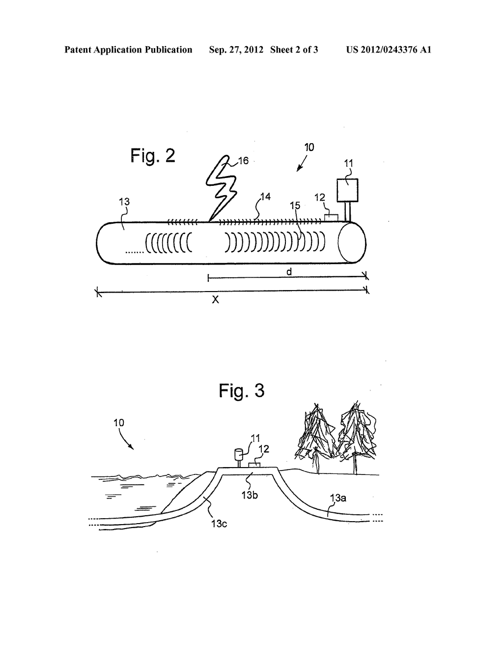 SYSTEM AND METHOD FOR THE CONTINUOUS DETECTION OF IMPACTS ON PIPELINES FOR     THE TRANSPORTATION OF FLUIDS, PARTICULARLY SUITABLE FOR UNDERWATER     PIPELINES - diagram, schematic, and image 03