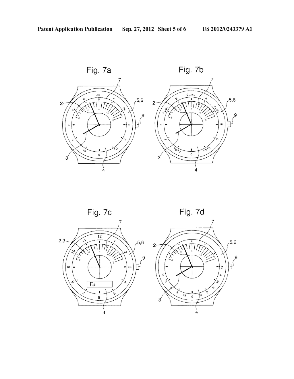 WATCH WITH AN INTEGRATED CHROMATIC TUNER - diagram, schematic, and image 06