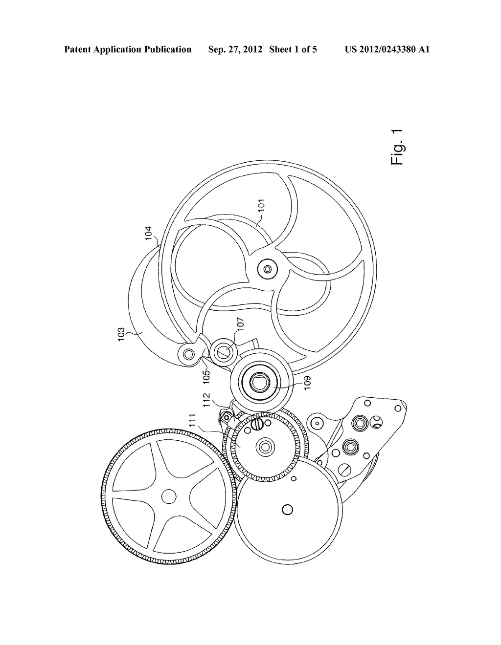 TIMEPIECE MOVEMENT COMPRISING A RUNNING EQUATION OF TIME DEVICE - diagram, schematic, and image 02