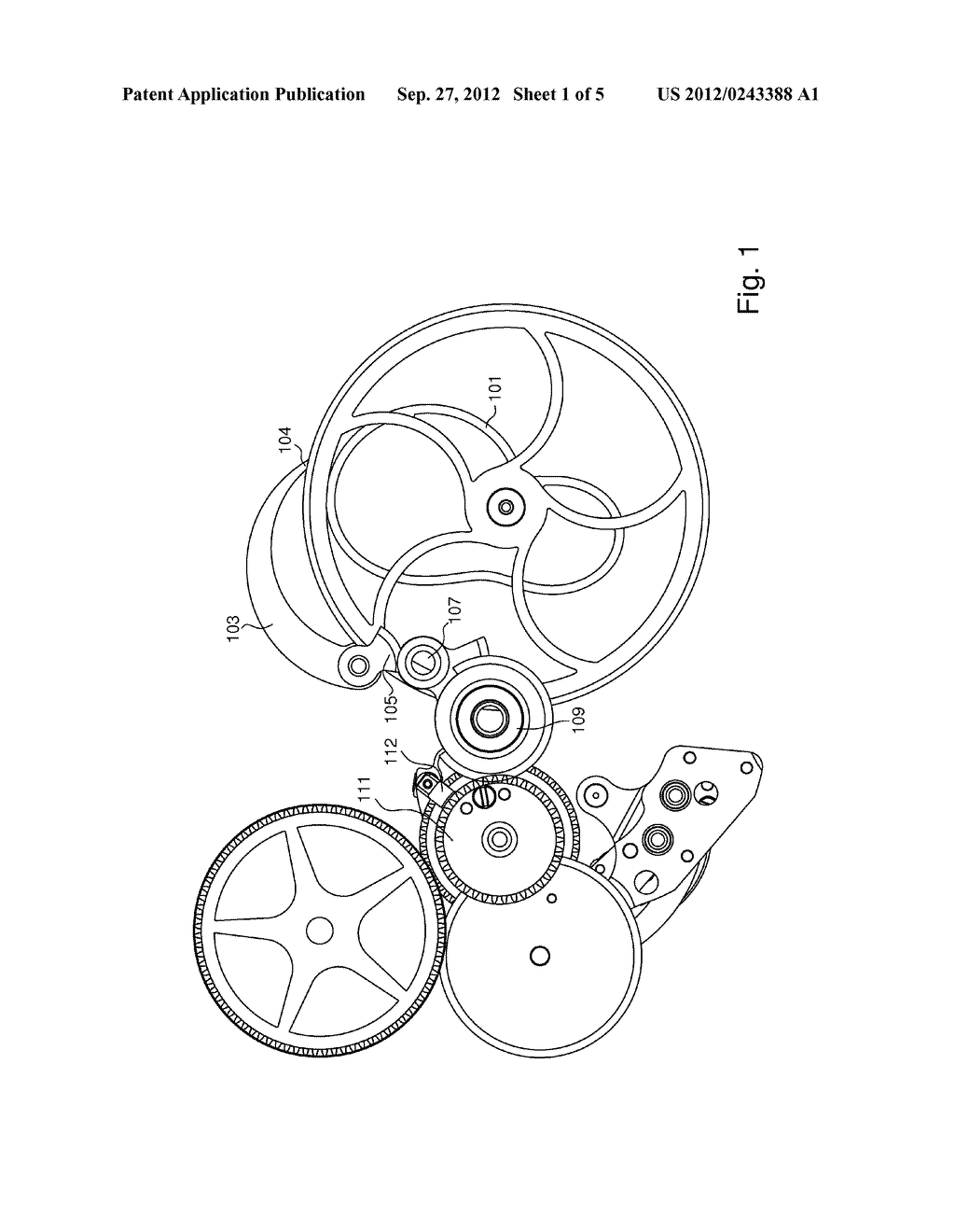 TIMEPIECE MOVEMENT INCLUDING AN INSTANTANEOUS ACTUATOR CONTROLLED BY THE     MOVEMENT - diagram, schematic, and image 02
