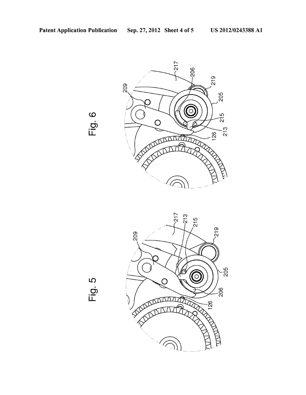 TIMEPIECE MOVEMENT INCLUDING AN INSTANTANEOUS ACTUATOR CONTROLLED BY THE     MOVEMENT - diagram, schematic, and image 05