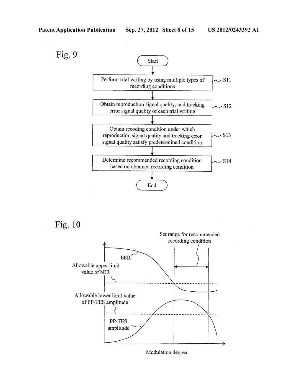 RECORDING ADJUSTING METHOD, INFORMATION RECORDING AND REPRODUCING DEVICE,     AND INFORMATION RECORDING MEDIUM - diagram, schematic, and image 09