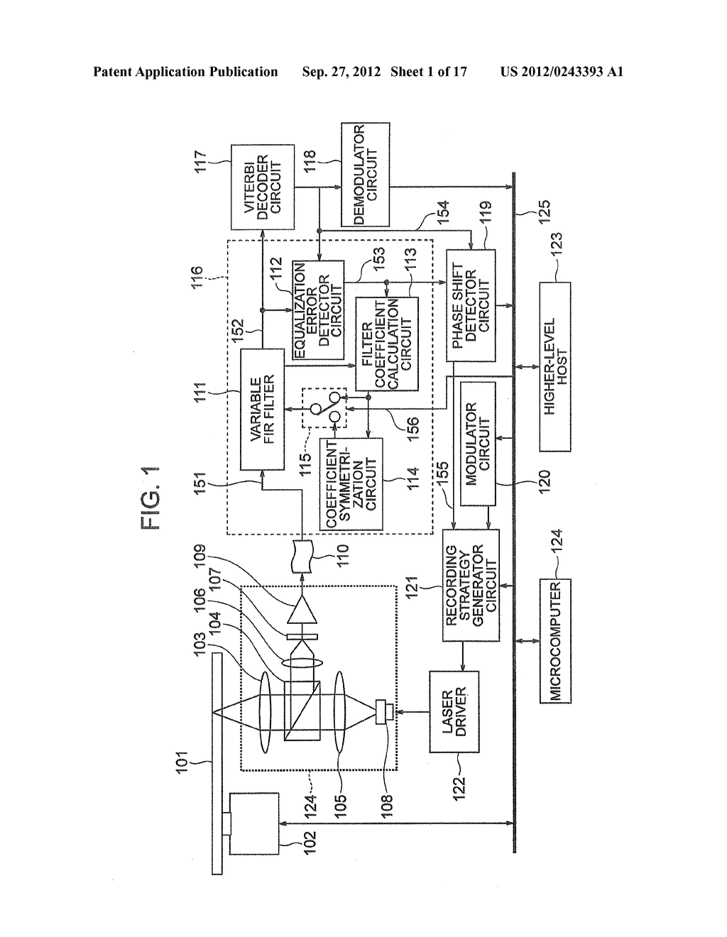 OPTICAL INFORMATION RECORDING METHOD, OPTICAL INFORMATION REPRODUCTION     METHOD AND OPTICAL DISK DEVICE - diagram, schematic, and image 02