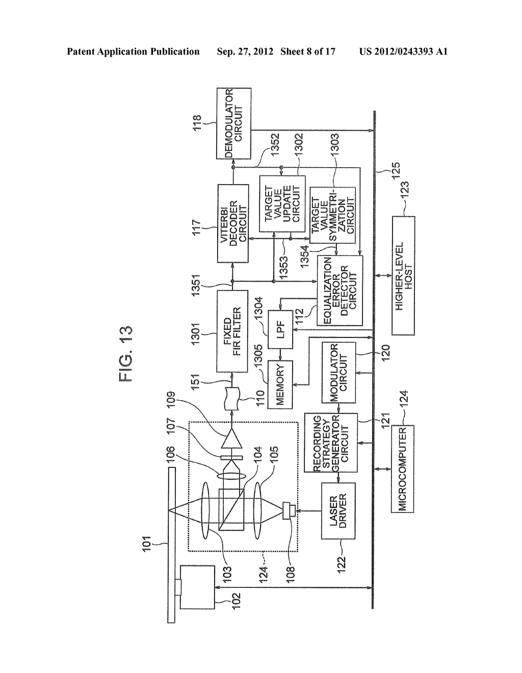 OPTICAL INFORMATION RECORDING METHOD, OPTICAL INFORMATION REPRODUCTION     METHOD AND OPTICAL DISK DEVICE - diagram, schematic, and image 09