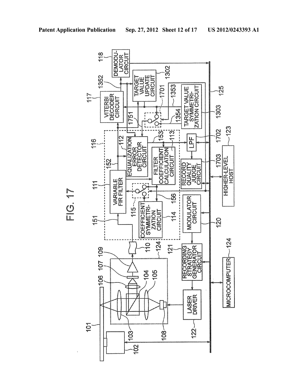 OPTICAL INFORMATION RECORDING METHOD, OPTICAL INFORMATION REPRODUCTION     METHOD AND OPTICAL DISK DEVICE - diagram, schematic, and image 13