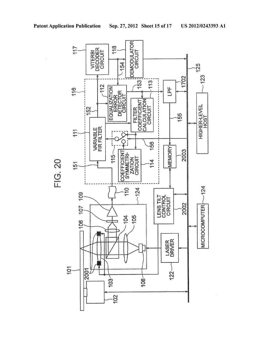 OPTICAL INFORMATION RECORDING METHOD, OPTICAL INFORMATION REPRODUCTION     METHOD AND OPTICAL DISK DEVICE - diagram, schematic, and image 16