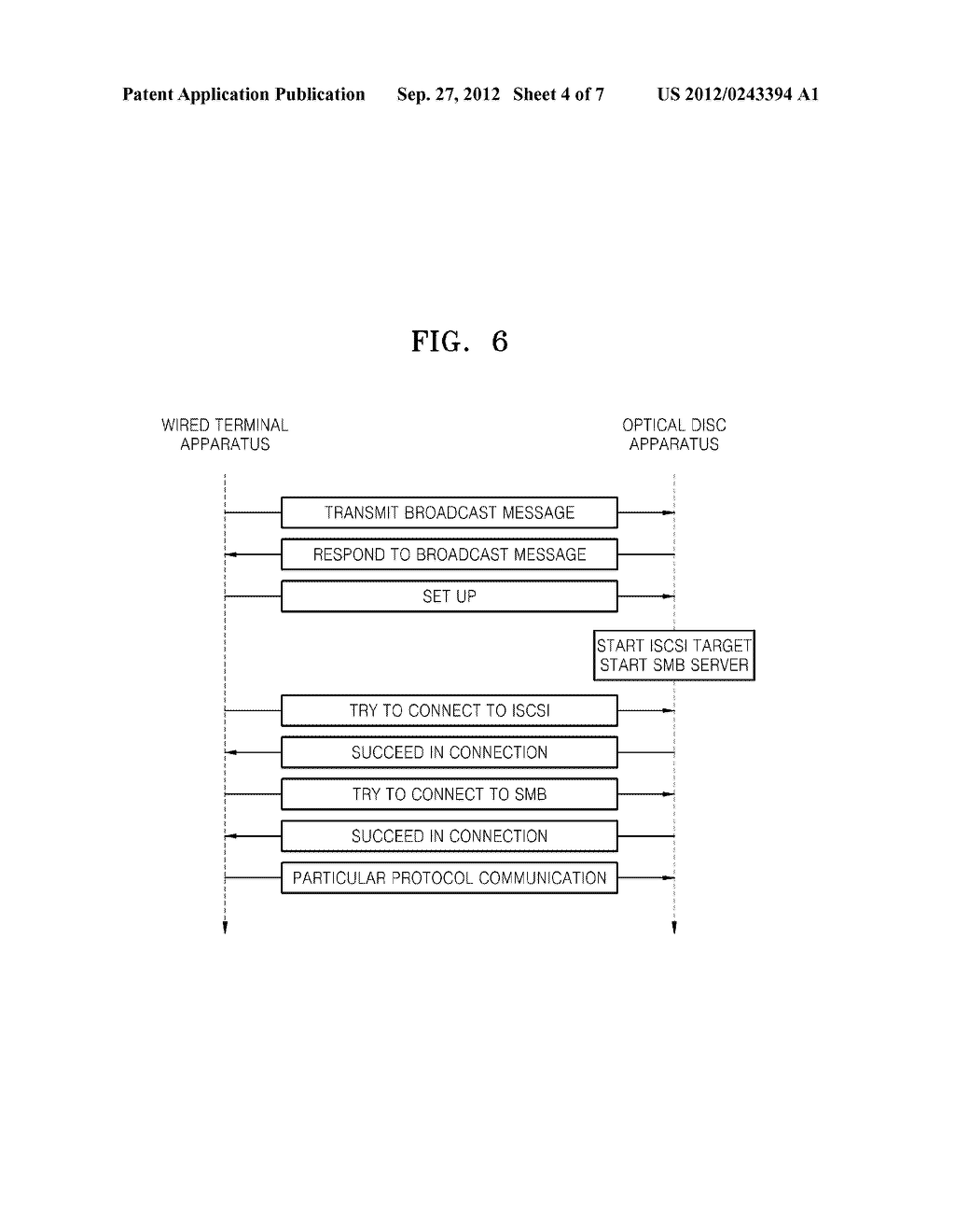 WIRELESS OPTICAL DISC APPARATUS AND METHOD OF OPERATING THE SAME - diagram, schematic, and image 05