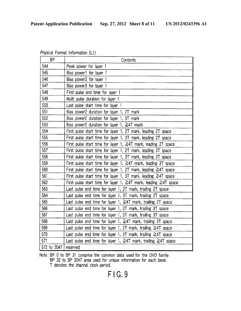 MULTI-LAYER OPTICAL DISC, INFORMATION RECORDING METHOD AND INFORMATION     REPRODUCING METHOD - diagram, schematic, and image 09