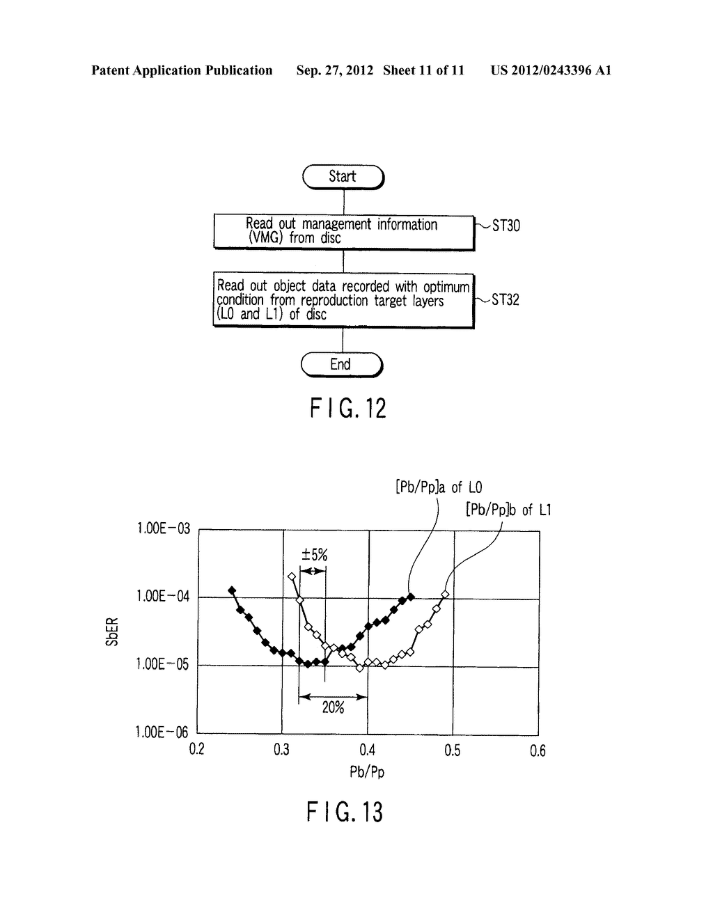 MULTI-LAYER OPTICAL DISC, INFORMATION RECORDING METHOD AND INFORMATION     REPRODUCING METHOD - diagram, schematic, and image 12