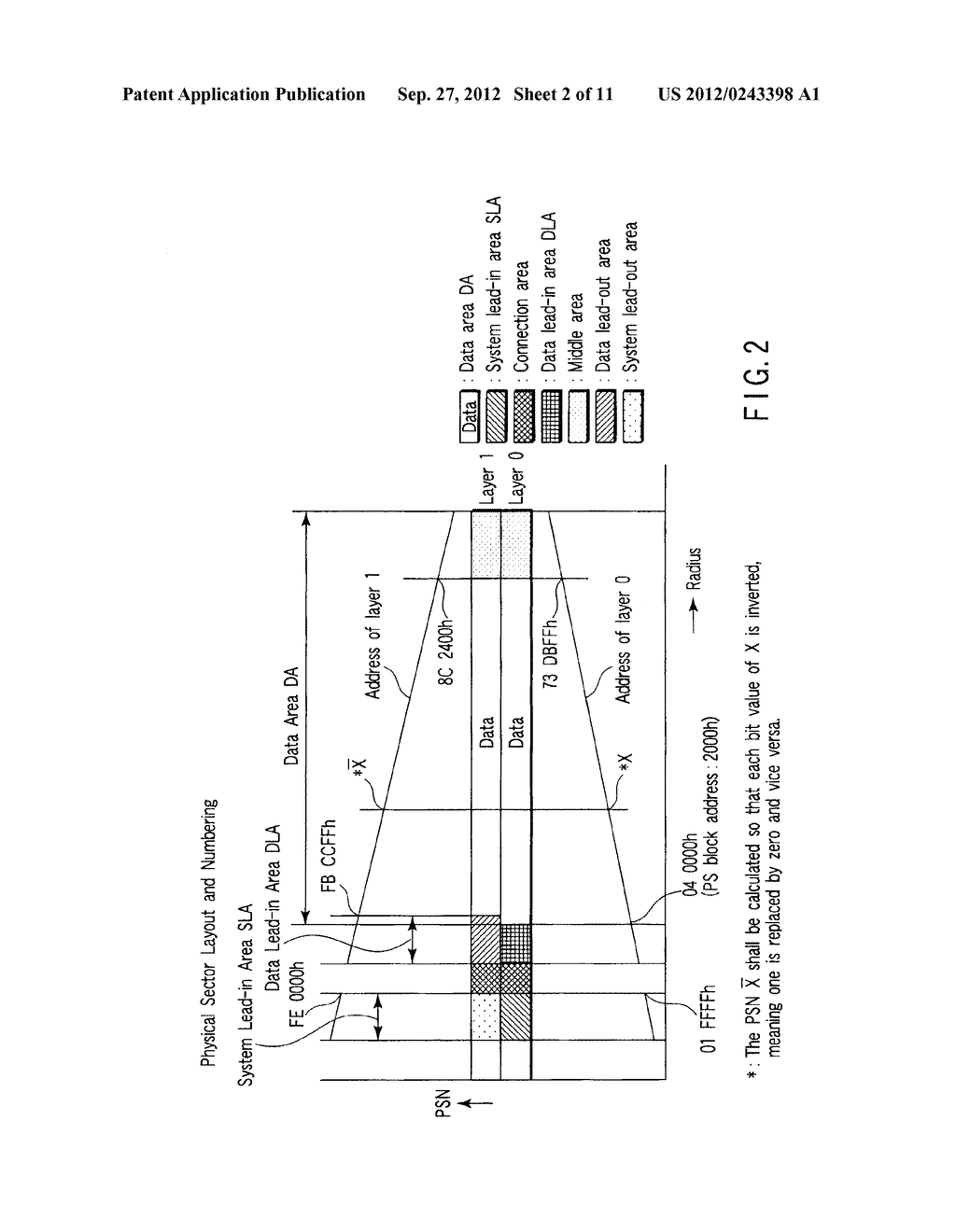 MULTI-LAYER OPTICAL DISC, INFORMATION RECORDING METHOD AND INFORMATION     REPRODUCING METHOD - diagram, schematic, and image 03