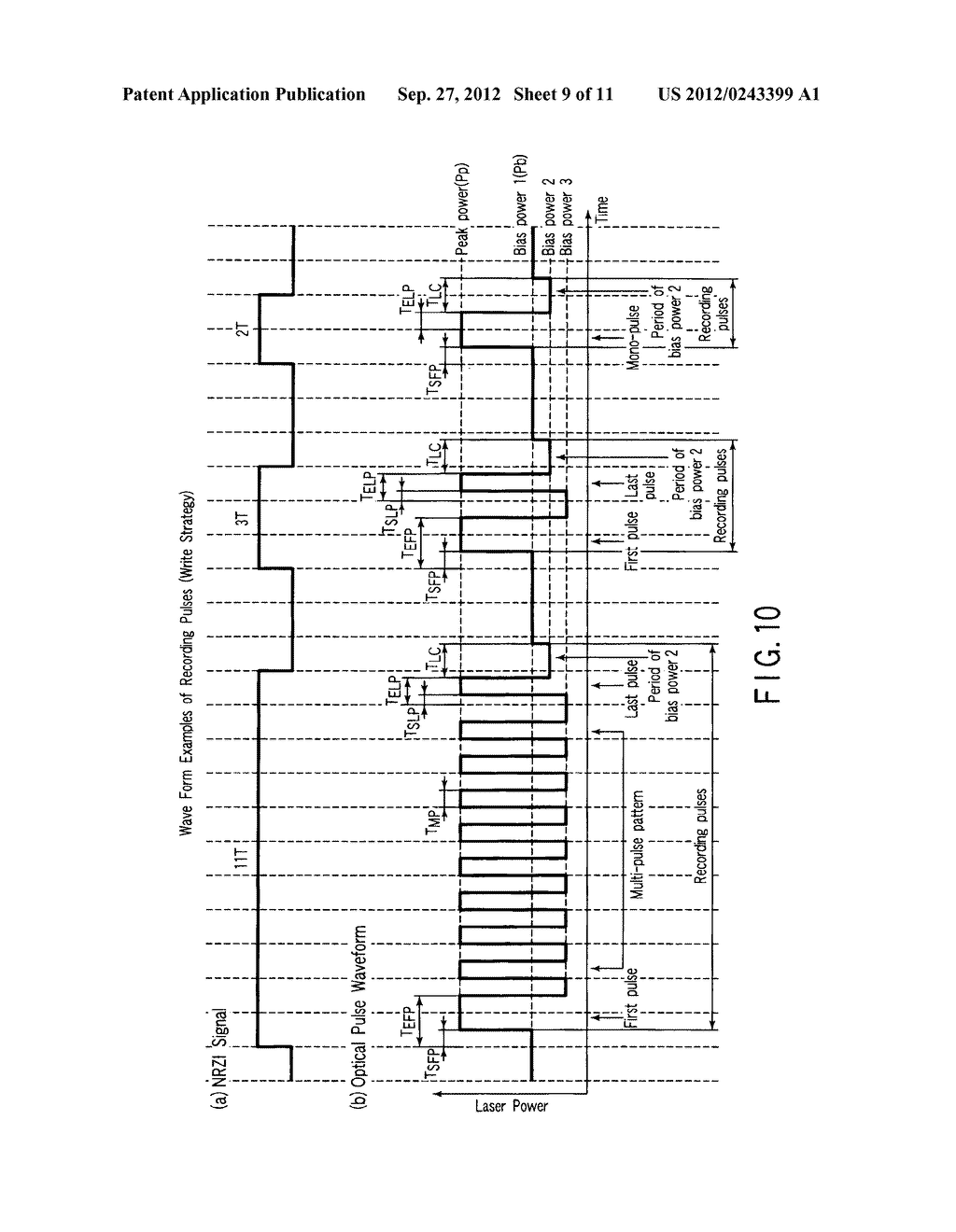 MULTI-LAYER OPTICAL DISC, INFORMATION RECORDING METHOD AND INFORMATION     REPRODUCING METHOD - diagram, schematic, and image 10