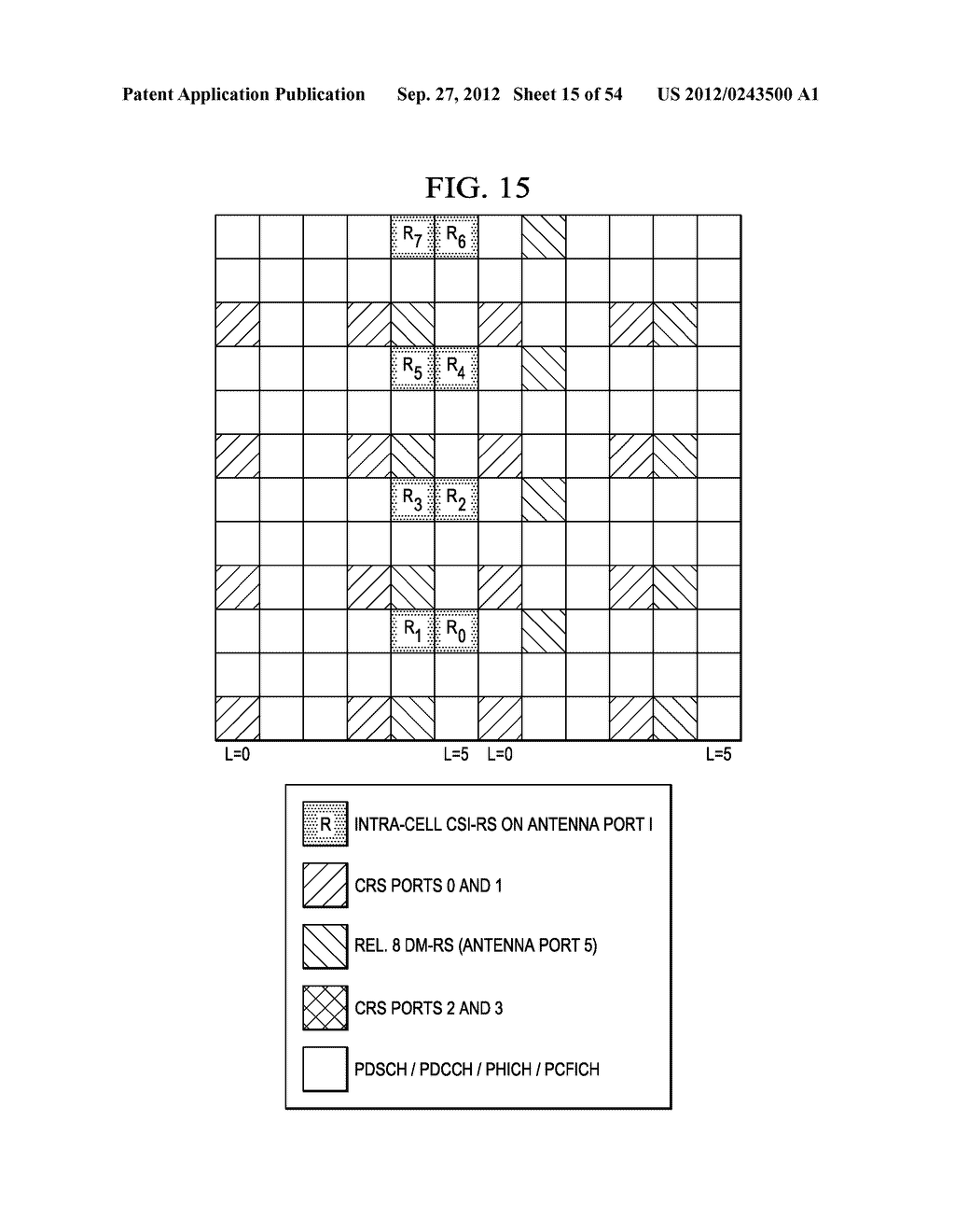 Multi-Cell Channel State Information-Reference Symbol Patterns for Long     Term Evolution Extended Cyclic Prefix and Code Division Multiplexing-Time     Multiplexing - diagram, schematic, and image 16