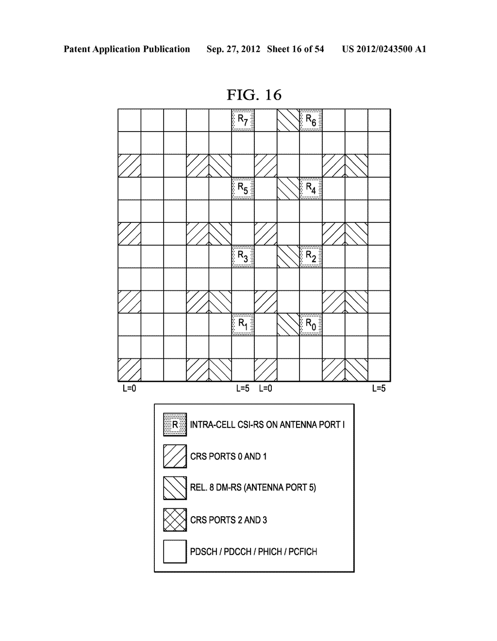 Multi-Cell Channel State Information-Reference Symbol Patterns for Long     Term Evolution Extended Cyclic Prefix and Code Division Multiplexing-Time     Multiplexing - diagram, schematic, and image 17
