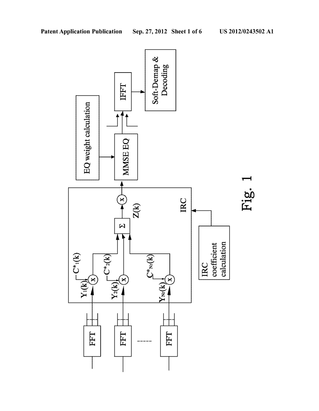 Method and Arrangement for Improved Interference Rejection Combining - diagram, schematic, and image 02