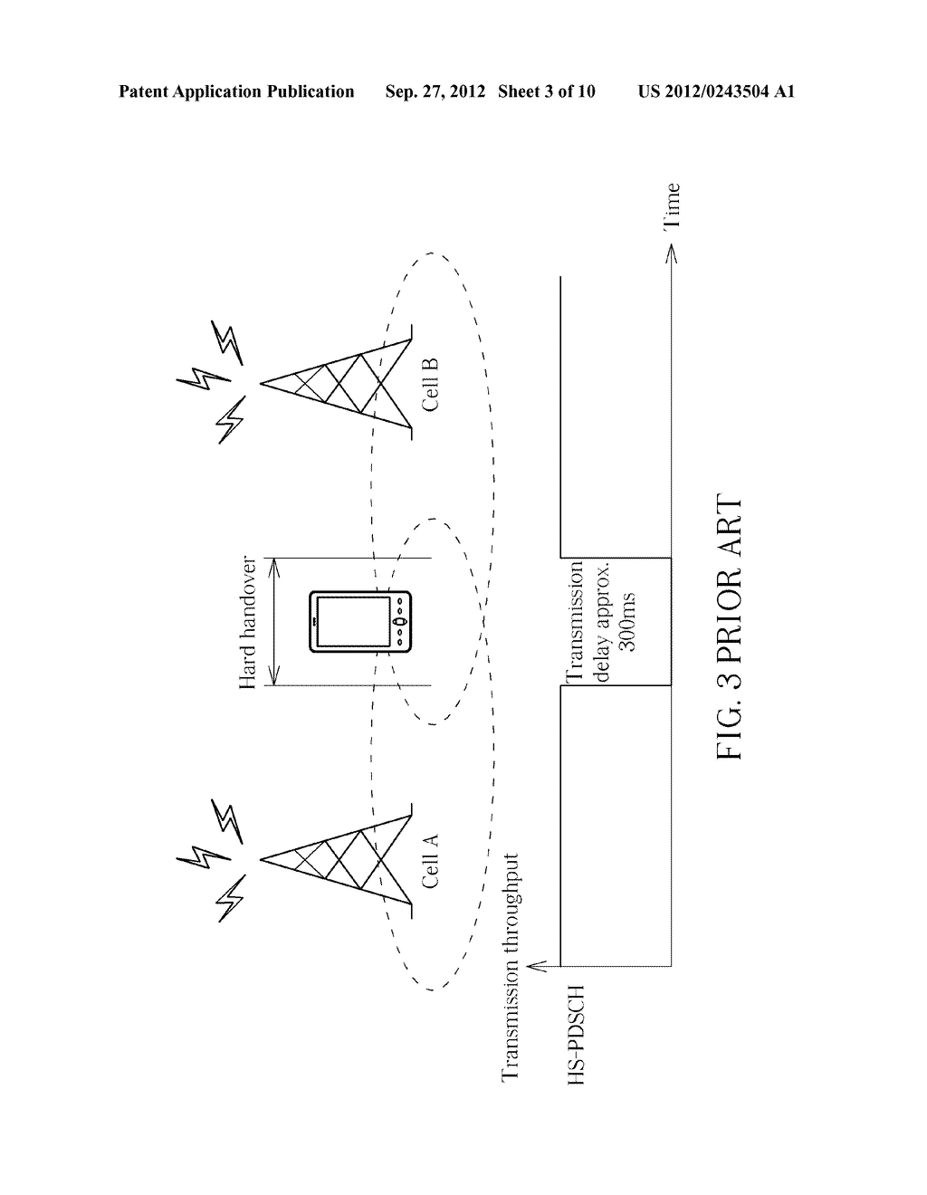 Method of Handling Cell Change in Wireless Communication Systems and     Communication Device Thereof - diagram, schematic, and image 04