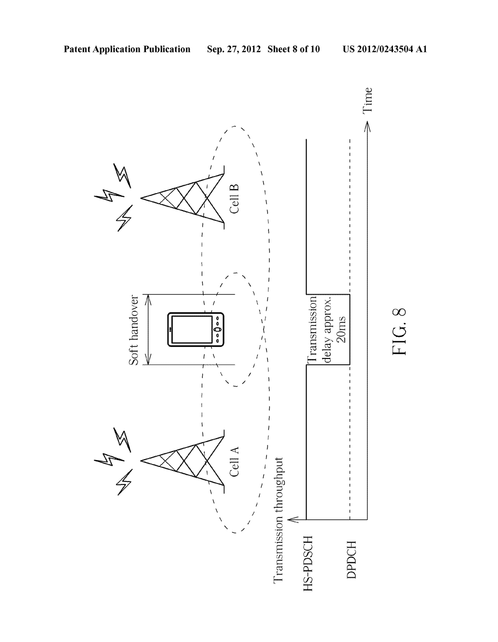 Method of Handling Cell Change in Wireless Communication Systems and     Communication Device Thereof - diagram, schematic, and image 09