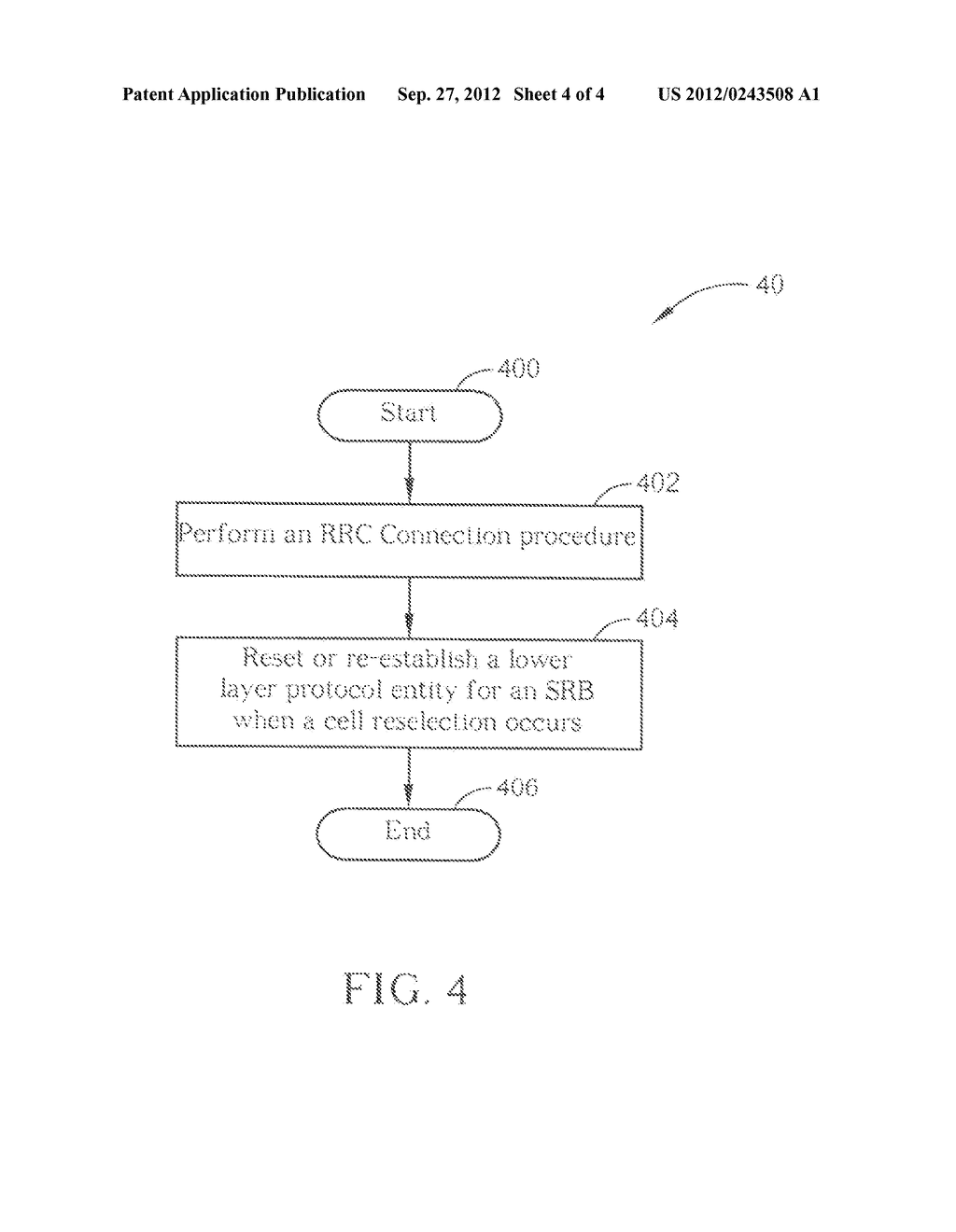 METHOD AND APPARATUS FOR IMPROVING RRC CONNECTION PROCEDURE - diagram, schematic, and image 05