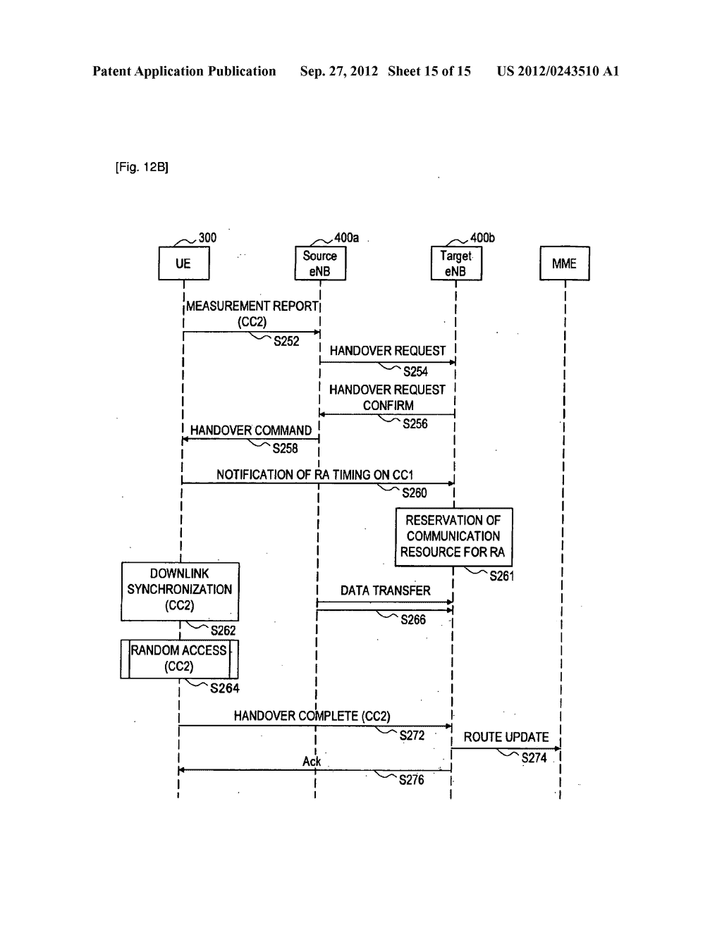 METHOD FOR PERFORMING HANDOVER, USER EQUIPMENT, AND RADIO COMMUNICATION     SYSTEM - diagram, schematic, and image 16