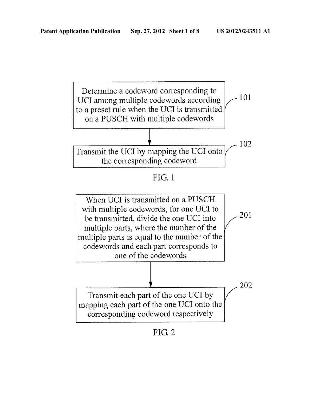 METHOD AND APPARATUS FOR TRANSMITTING UPLINK CONTROL INFORMATION - diagram, schematic, and image 02