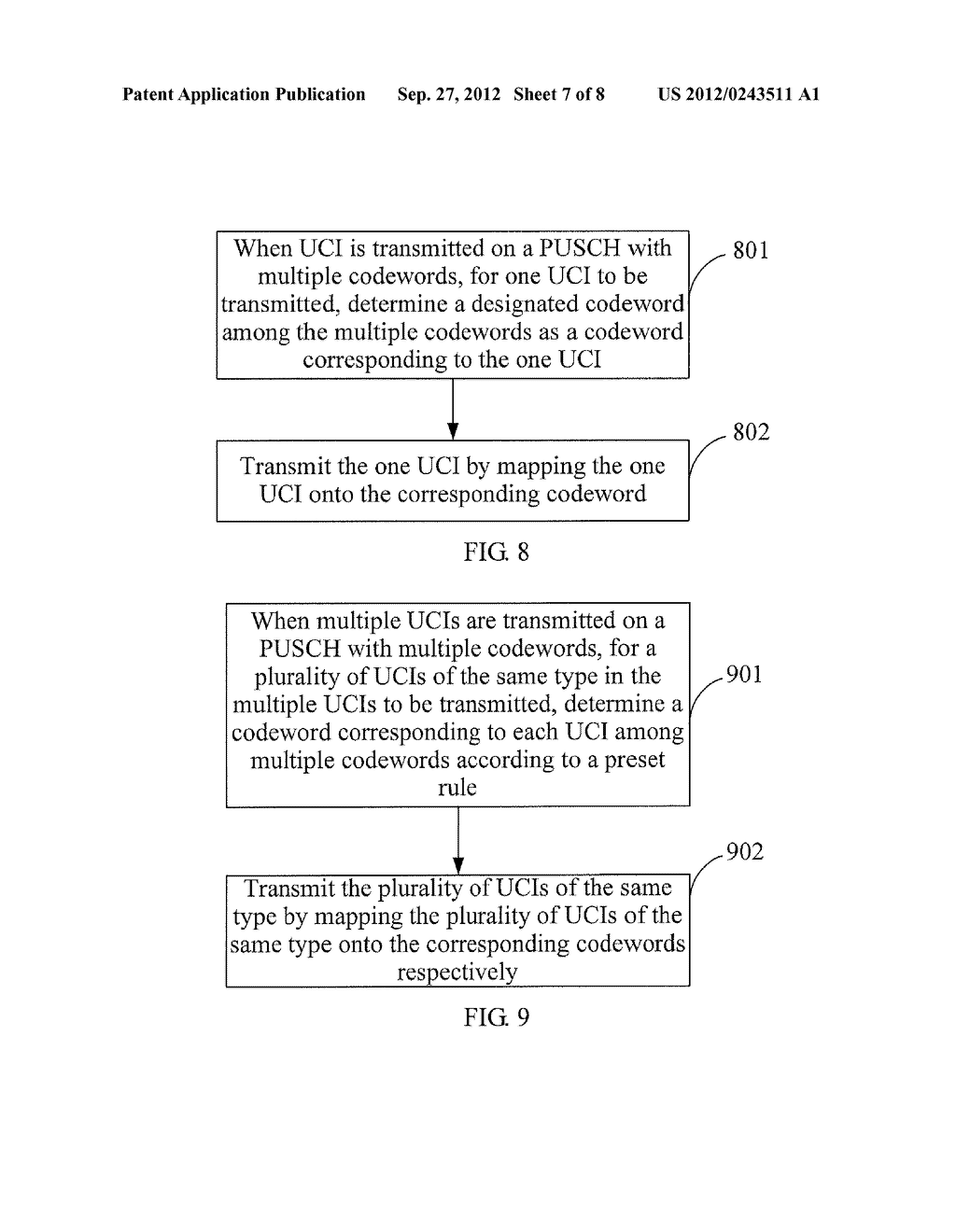 METHOD AND APPARATUS FOR TRANSMITTING UPLINK CONTROL INFORMATION - diagram, schematic, and image 08