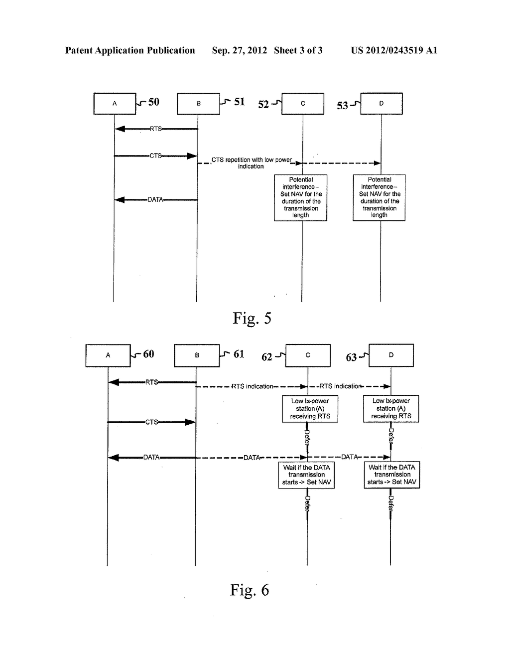 SOLVING A HIDDEN NODE PROBLEM DUE TO TRANSMISSION POWER IMBALANCE - diagram, schematic, and image 04
