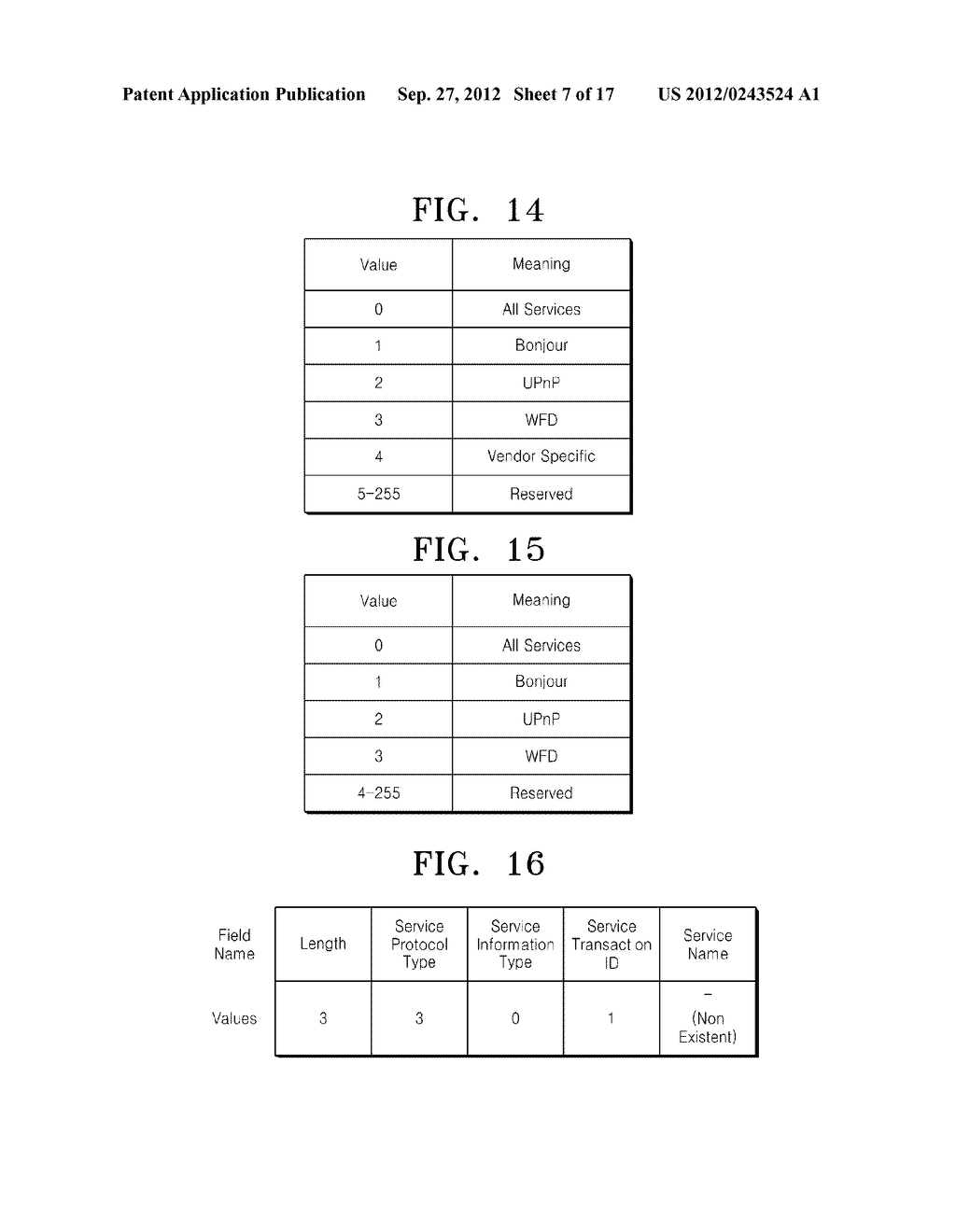METHOD AND DEVICE FOR INVESTIGATING WIFI DISPLAY SERVICE IN A WIFI DIRECT     NETWORK - diagram, schematic, and image 08