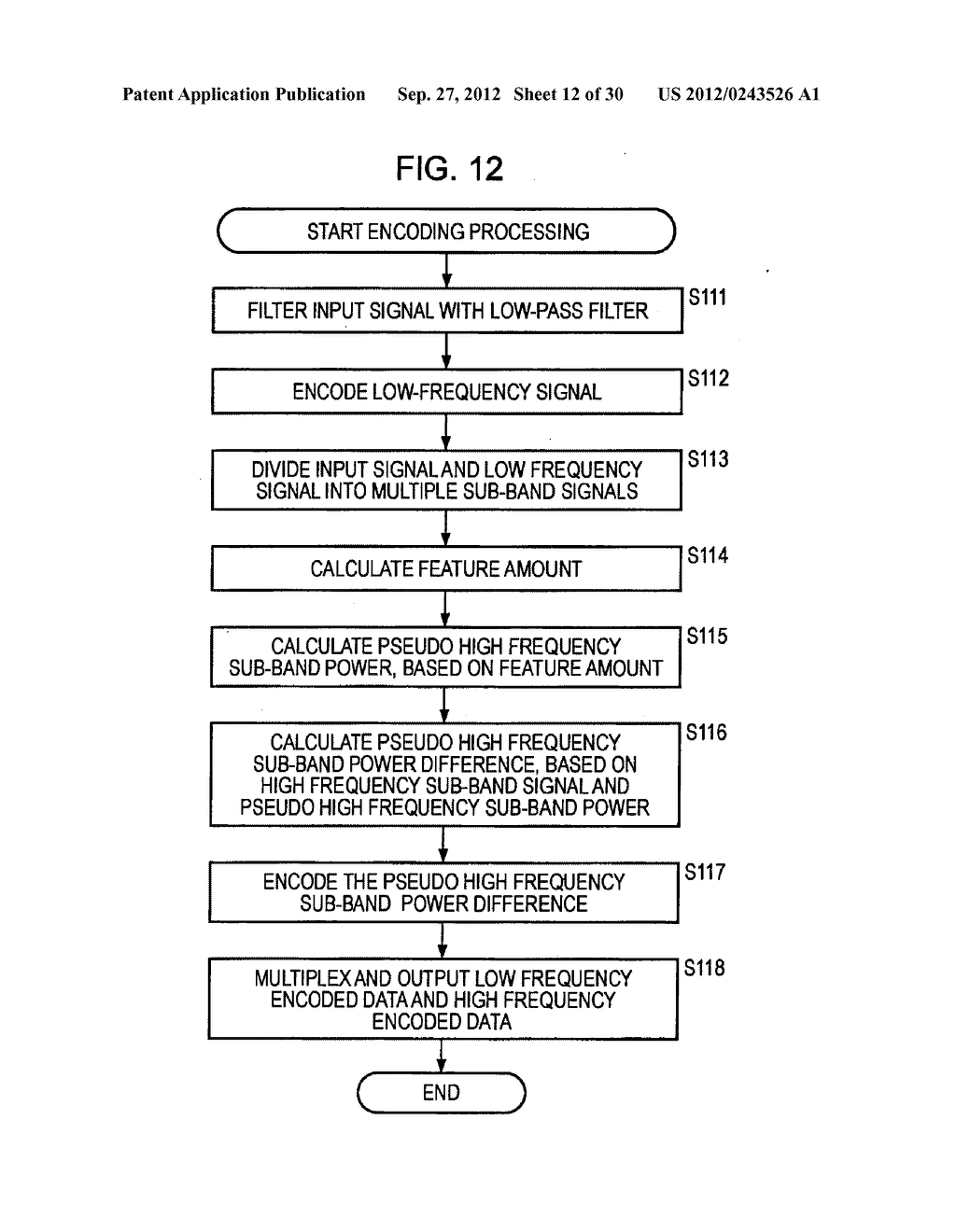 FREQUENCY BAND EXTENDING DEVICE AND METHOD, ENCODING DEVICE AND METHOD,     DECODING DEVICE AND METHOD, AND PROGRAM - diagram, schematic, and image 13