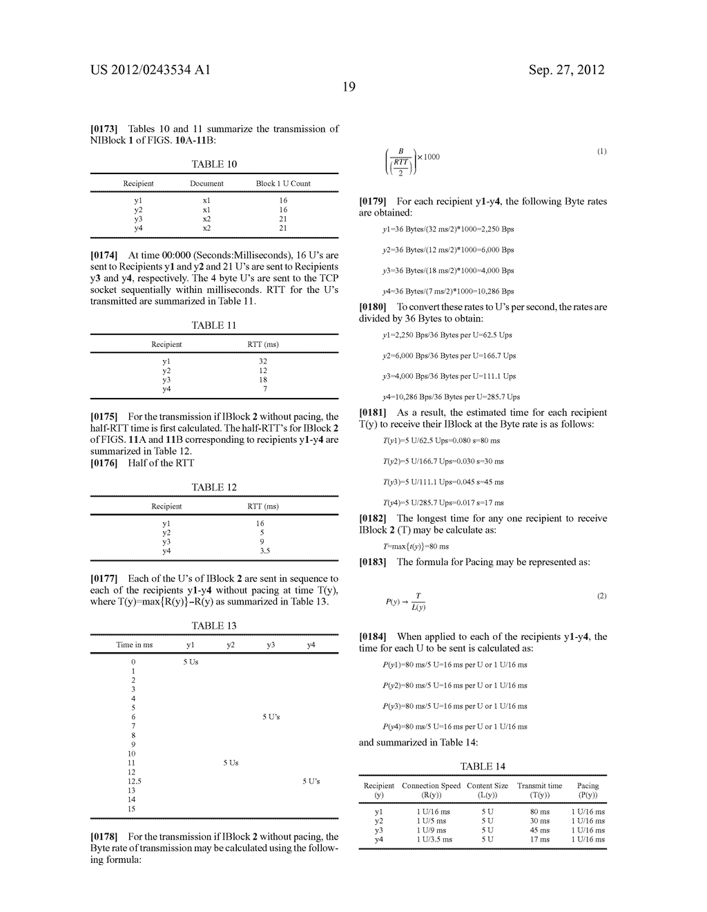 METHOD AND SYSTEM FOR PACING, ACKING, TIMING, AND HANDICAPPING (PATH) FOR     SIMULTANEOUS RECEIPT OF DOCUMENTS - diagram, schematic, and image 40