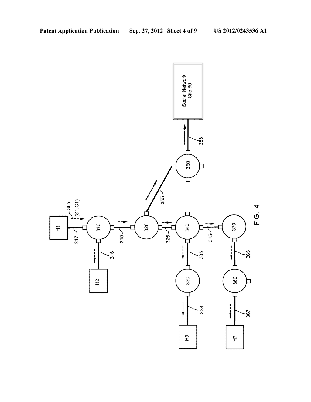 METHOD AND APPARATUS FOR TRANSMITTING AND RECEIVING MULTICAST DATA IN     SOCIAL NETWORKS - diagram, schematic, and image 05
